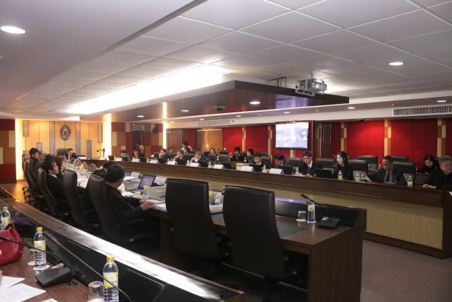 การประชุมสภามหาวิทยาลัยราชภัฏเชียงใหม่ ครั้งที่ 2/2560