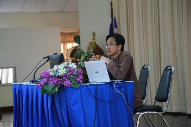 คณะวิทยาการจัดการ จัดพิธีปัจฉิมนิเทศ ประจำภาคเรียนที่ 2/2558