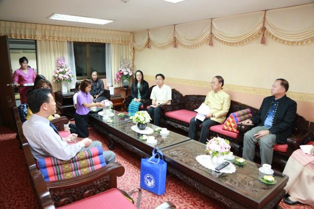 ผู้แทนจากมหาวิทยาลัยยูนนานนอร์มอล สาธารณรัฐประชาชนจีน เยือนมหาวิทยาลัยราชภัฏเชียงใหม่