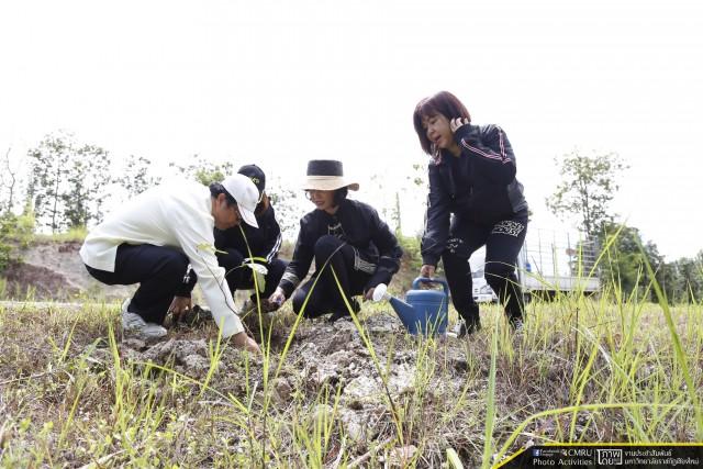 มหาวิทยาลัยราชภัฏเชียงใหม่ จัดโครงการปลูกต้นไม้และปล่อยปลาถวายพระราชกุศล เนื่องในวโรกาสที่พระเจ้าวรวงศ์เธอ พระองค์เจ้าโสมสวลี พระวรราชาทินัดดามาตุ ทรงเจริญพระชันษา 60 ปี 13 กรกฎาคม 2560