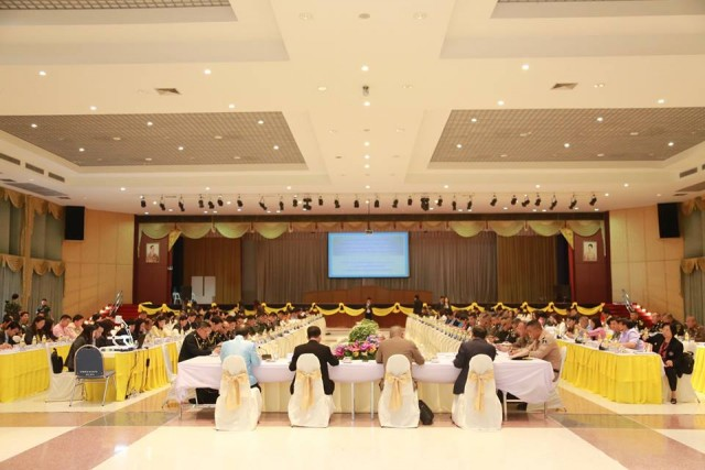 มร.ชม. จัดประชุมเตรียมการรับเสด็จฯ และพิธีพระราชทานปริญญาบัตร ประจำปี 2558