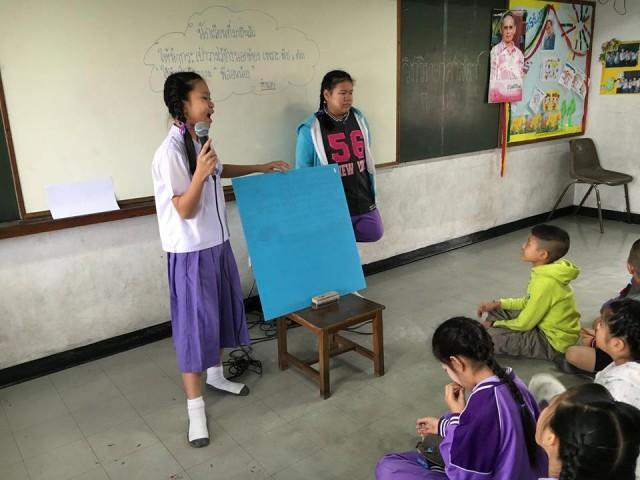 สาธิตมร.ชม. จัดโครงการพี่สอนน้องเน้นการเรียนรู้จริงผ่านฐานกิจกรรม