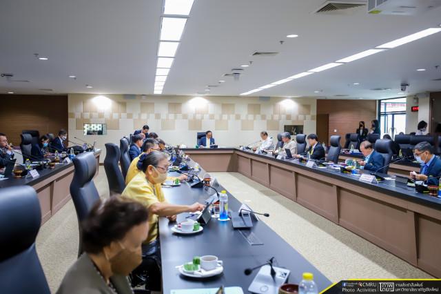 การประชุมสภามหาวิทยาลัยราชภัฏเชียงใหม่ ครั้งที่ 7/2563