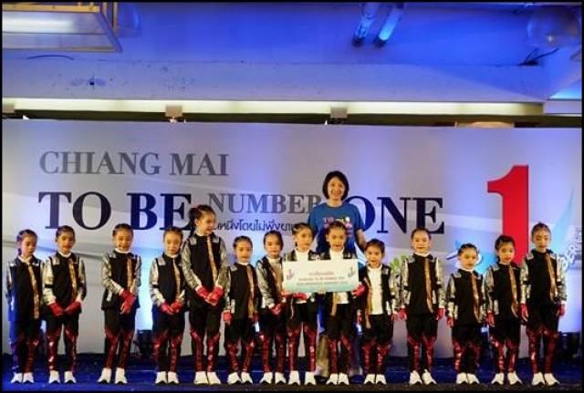 รร. สาธิต มร.ชม. คว้ารางวัลชนะเลิศ To Be Number 1 Dancercise ChiangMai 2018   รอบชิงแชมป์จังหวัดเชียงใหม่ ควบ 2 รุ่น เตรียมแข่งรอบแชมป์ภาคเหนือ 25 – 26 พ.ย. นี้