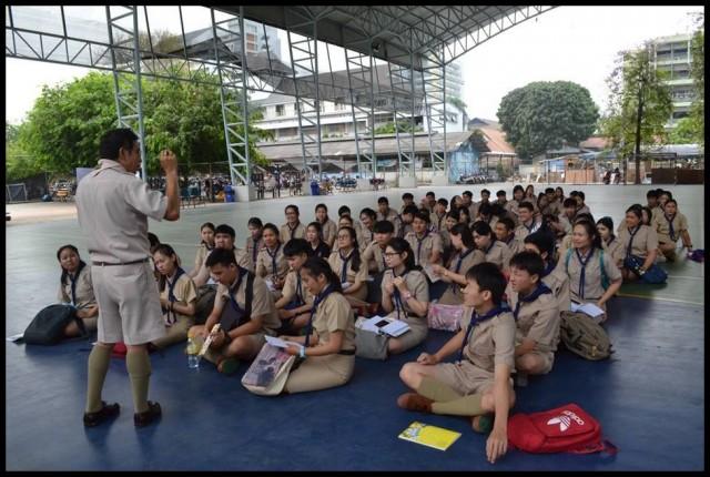 ชมรมลูกเสือ มร.ชม. จัดอบรมบุคลากรทางการลูกเสือระดับความรู้ทั่วไปให้ความรู้แก่นักศึกษา  เตรียมความพร้อมการเป็นผู้กำกับลูกเสือ - เนตรนารีสามัญ