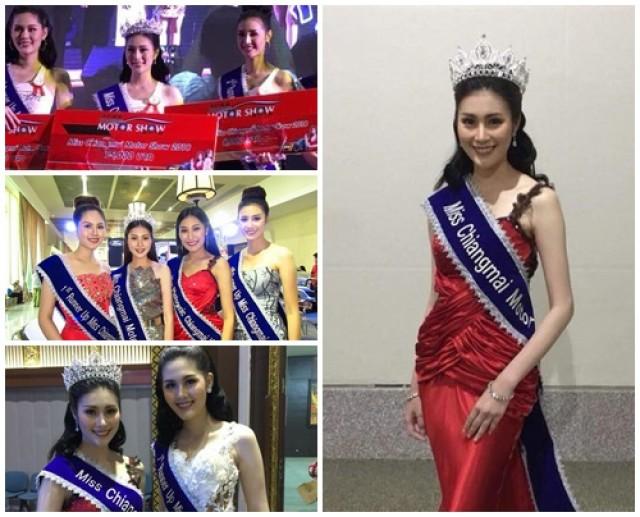 สาวเกษตร ม.ราชภัฏเชียงใหม่ คว้าตำแหน่ง Miss motor show chiangmai 2018