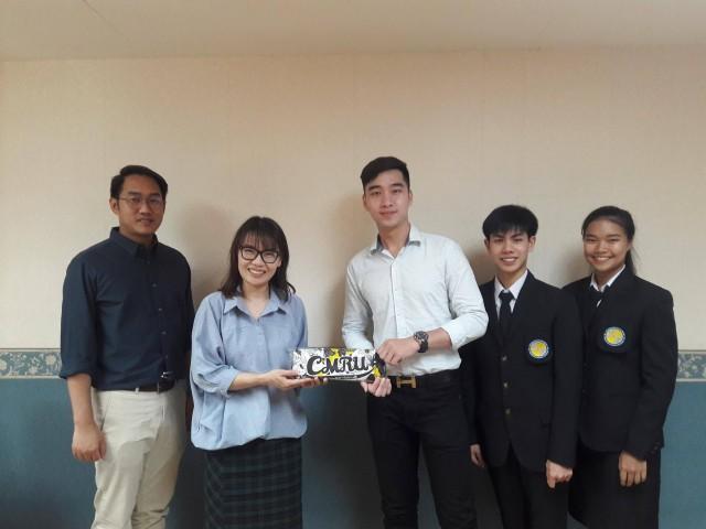 มร.ชม. จัดพิธีปฐมนิเทศนักศึกษาโครงการแลกเปลี่ยน  ฝึกประสบการณ์วิชาชีพด้านการโรงแรม จาก Duy Tan University ประเทศเวียดนาม