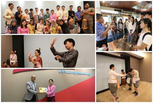 ม.ราชภัฏเชียงใหม่ ส่งตัวแทนนักศึกษาร่วมเผยแพร่ภาษาและวัฒนธรรมไทย  ภายใต้โครงการแลกเปลี่ยน Passage to ASEAN Journey  ณ University of Technology, Malaysia ประเทศมาเลเซีย