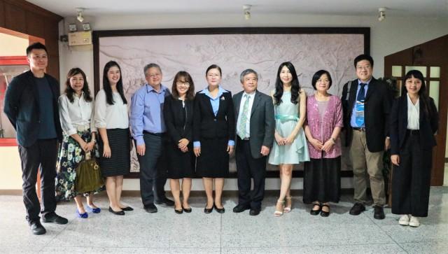 ผู้บริหาร มร.ชม. ต้อนรับคณะผู้แทนจาก National Chin-Yi University of Technology ประเทศไต้หวัน