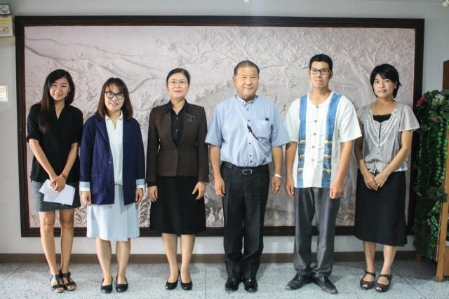 ผู้บริหาร มร.ชม. ต้อนรับอาจารย์จาก Kyoto University of Education ประเทศญี่ปุ่น พร้อมหารือความร่วมมือในการแลกเปลี่ยนนักศึกษาระหว่างสองสถาบัน