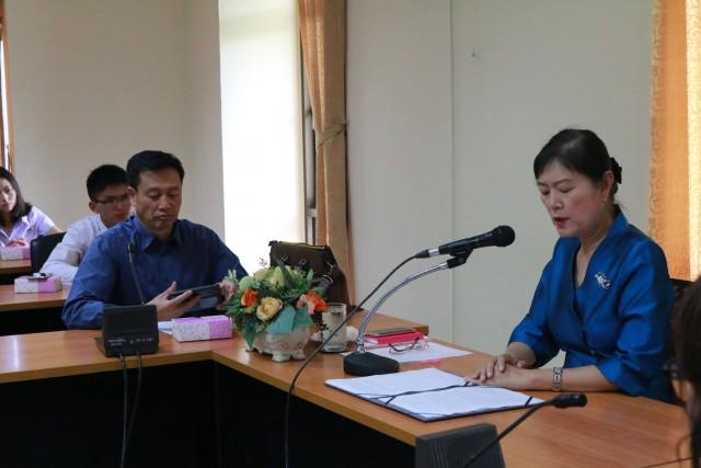 มร.ชม. จัดพิธีปฐมนิเทศนักศึกษาแดนมังกร ประจำปีการศึกษา 2559