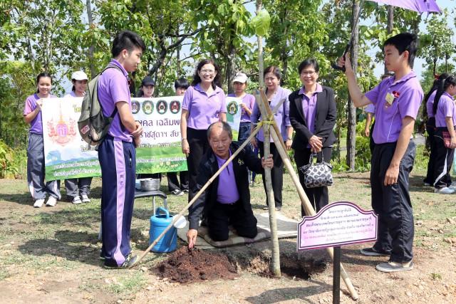 มร.ชม. เตรียมคิ๊กอ๊อฟ ปลูกต้นไม้โครงการล้านกล้ามหามงคล 8 กรกฎาคม นี้ บนพื้นที่ศูนย์แม่ริม