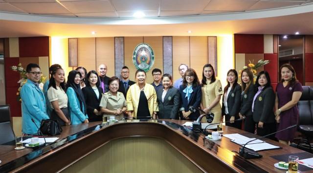 มร.ชม. จัดพิธีปฐมนิเทศนักศึกษาโครงการ SEA - Teacher Project  จากมหาวิทยาลัยในประเทศฟิลิปปินส์และอินโดนีเซีย