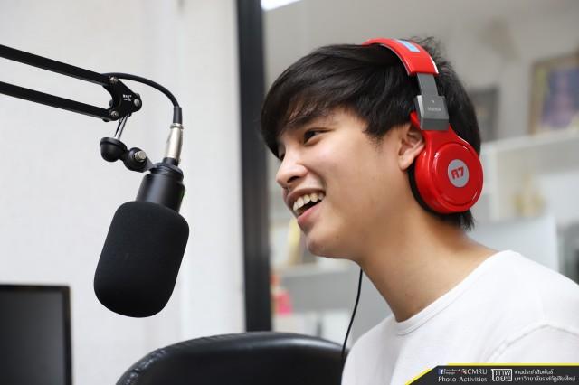 สถานีวิทยุFM 88.50 สัมภาษณ์สด มาร์ค ธัชพล