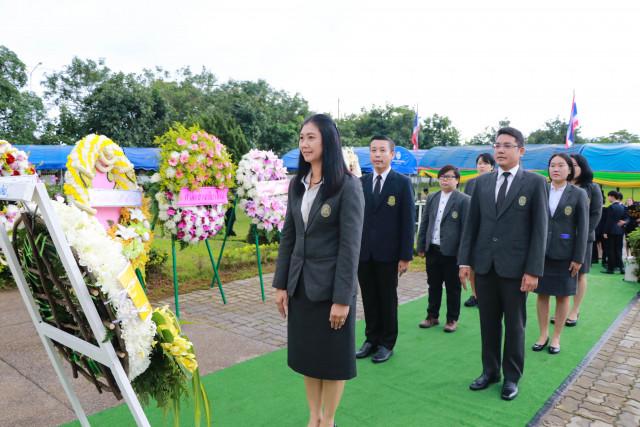 ผู้บริหาร คณาจารย์ และนักศึกษา ม.ราชภัฏเชียงใหม่  ร่วมพิธีเทิดพระเกียรติและวางพวงมาลา พระบิดาแห่งกฎหมายไทย เนื่องในวันรพี ประจำปี 2562