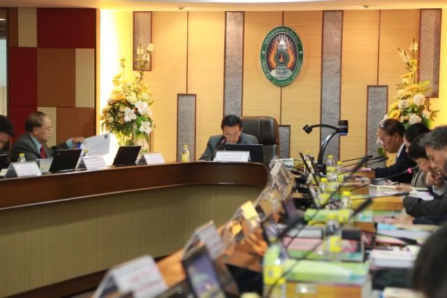 การประชุมสภามหาวิทยาลัย มหาวิทยาลัยราชภัฏเชียงใหม่ ครั้งที่ 10/2559