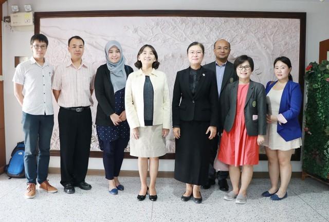 ราชภัฏเชียงใหม่ ต้อนรับผู้บริหารจาก Taipei Medical University ประเทศไต้หวัน