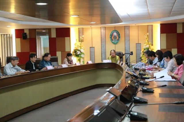 คณะกรรมการบริหารวิชาการร่วมการประชุม ครั้งที่ 5 ประจำปี 2559