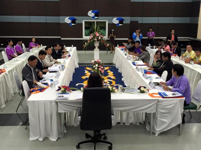 รองฯ ผศ.สุกัญญา เป็นประธานการประชุมเครือข่ายกิจการนักศึกษา มรภ.ภาคเหนือ