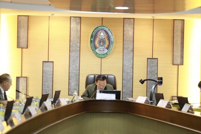 การประชุมสภามหาวิทยาลัยราชภัฏเชียงใหม่ ครั้งที่ 3/2560