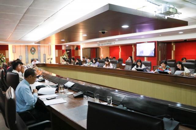 คณะกรรมการดำเนินงาน เนื่องในโอกาสวันครบรอบวันสถาปนามหาวิทยาลัยราชภัฏเชียงใหม่ ประจำปี 2561 จัดประชุมเตรียมงาน