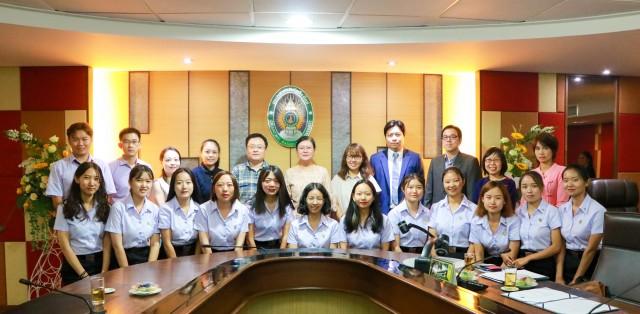 ม.ราชภัฏเชียงใหม่ จัดพิธีปฐมนิเทศนักศึกษาโครงการแลกเปลี่ยน  มหาวิทยาลัยยูนนานนอร์มอล สาธารณรัฐประชาชนจีน ประจำปีการศึกษา 2561