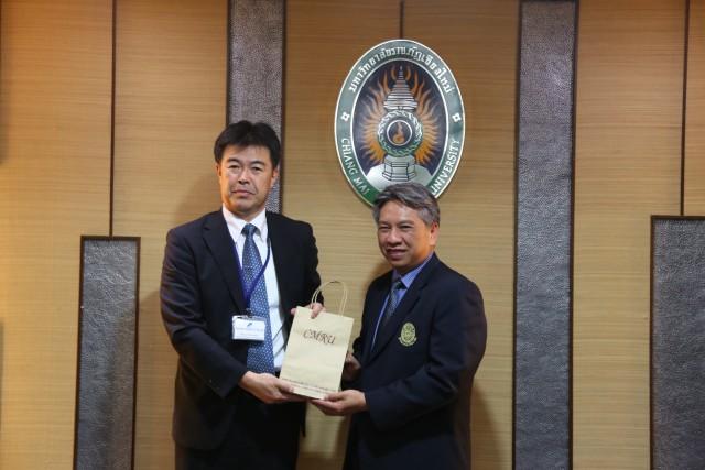 คณะผู้บริหาร ม.ราชภัฏเชียงใหม่ ร่วมต้อนรับคณาจารย์และนักศึกษาแดนซากุระ  ในโอกาสเยือนไทยแลกเปลี่ยนการบริหารงานและการจัดการศึกษาหลักสูตรครู