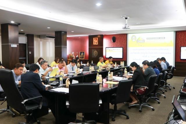 คณะกรรมการดำเนินงานโครงการมหาวิทยาลัยราชภัฏเชียงใหม่ฮาล์ฟมาราธอน 2561 จัดการประชุมครั้งที่ 4/2561