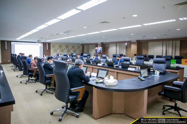 การประชุมสภามหาวิทยาลัยราชภัฏเชียงใหม่ ครั้งที่ 12/2564