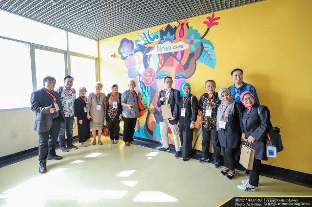 ผู้บริหารมหาวิทยาลัยราชภัฏเชียงใหม่ ต้อนรับคณะผู้บริหารและอาจารย์จาก Universitas Padjadjaran สาธารณรัฐอินโดนีเซีย