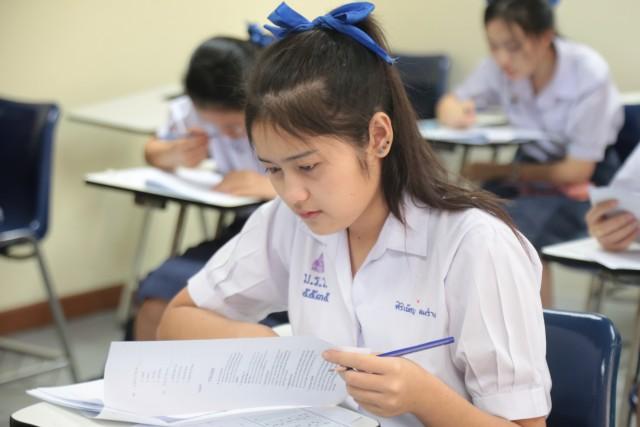 มร.ชม. จัดสอบภาษาอังกฤษคัดเลือกนักศึกษารอบโควตา หลักสูตรนานาชาติ ปีการศึกษา 2560