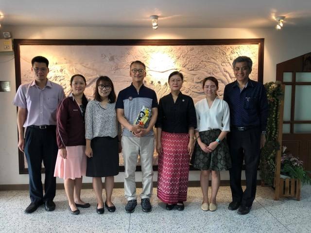ผู้บริหาร มร.ชม. ต้อนรับ Visiting Professor จาก Jeju National Unversity สาธารณรัฐเกาหลี