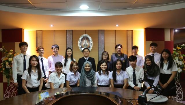 ตัวแทน นักศึกษา ม.ราชภัฏเชียงใหม่ เตรียมเดินทางเยือนมาเลเซีย  ร่วมโครงการ Passage  to Asean  Journey  2018