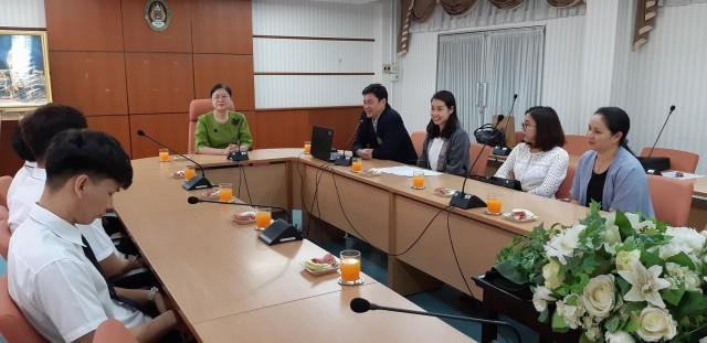 ม.ราชภัฏเชียงใหม่ สานต่อความร่วมมือทางวิชาการประเทศไต้หวัน  มอบทุนแก่นักศึกษาก่อนเดินทางร่วมแลกเปลี่ยนเรียนรู้ ณ National Chin-Yi University of Technology