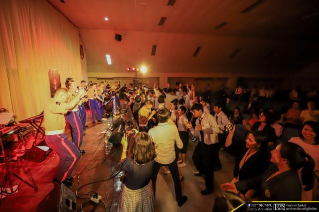 มหาวิทยาลัยราชภัฏเชียงใหม่ร่วมกับสถานเอกอัครราชทูตสหรัฐอเมริกา ประจำประเทศไทย จัดงานคอนเสิร์ตในโอกาสครบรอบ 200 ปี มิตรภาพไทย – สหรัฐอเมริกา