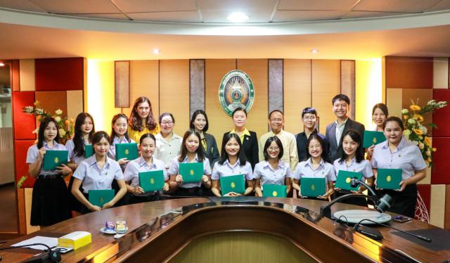 ม.ราชภัฏเชียงใหม่ จัดพิธีปัจฉิมนิเทศนักศึกษาโครงการแลกเปลี่ยนจากมหาวิทยาลัยไป่เซ่อ สาธารณรัฐประชาชนจีน ประจำปีการศึกษา 2561