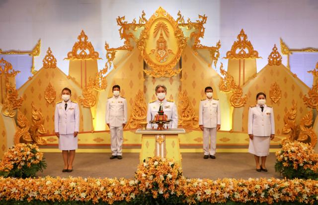 ม.ราชภัฏเชียงใหม่ ร่วมบันทึกเทปถวายพระพรเนื่องในวันเฉลิมพระชนมพรรษา พระบาทสมเด็จพระเจ้าอยู่หัวฯ 28 กรกฎาคม 2564