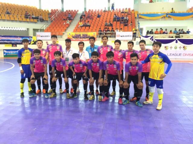 เวียงพิงค์-ราชภัฏเชียงใหม่ ยิงคู่แข่ง 7-0 ประเดิมจ่าฝูงฟุตซอลลีกไทยแลนด์ ดิวิชั่น 1