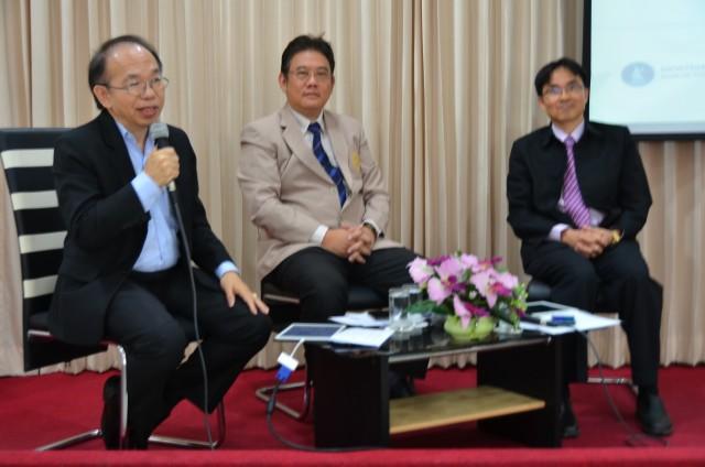 """คณะวิทยาการจัดการ มร.ชม. จัดเสวนา """"ทิศทางเศรษฐกิจไทยและเศรษฐกิจโลก 2016"""""""