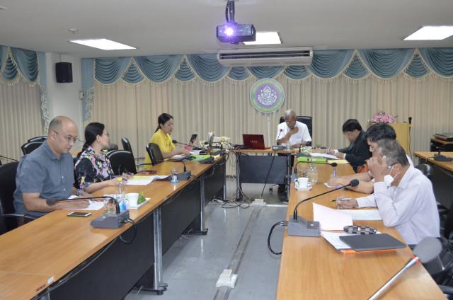บัณฑิตวิทยาลัย มร.ชม จัดประชุมทบทวนและเตรียมจัดการเรียนการสอน ภาคเรียนที่ 2 ปีการศึกษา 2563