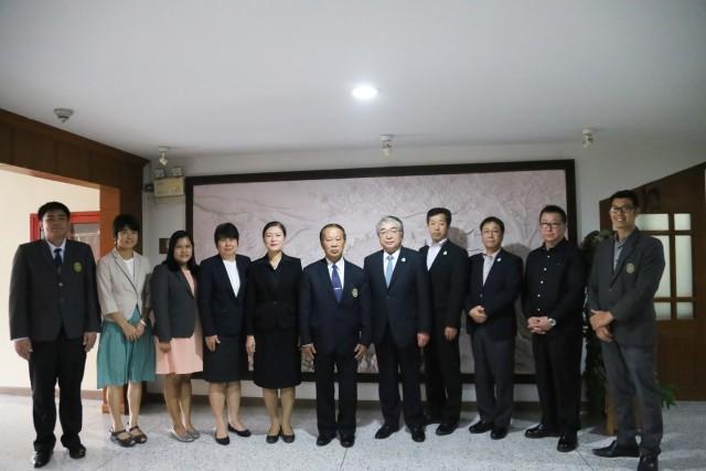 มหาวิทยาลัยราชภัฏเชียงใหม่ ต้อนรับคณะจากเมืองฮิกาชิกาวะ ประเทศญี่ปุ่น