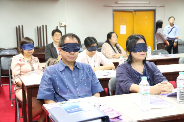 ศูนย์พัฒนามนุษย์และบุคคลที่มีความพิการ มร.ชม. จัดสัมมนาเชิงปฏิบัติการสร้างความรู้ความเข้าใจการปรับสภาพแวดล้อมภายในมหาวิทยาลัย