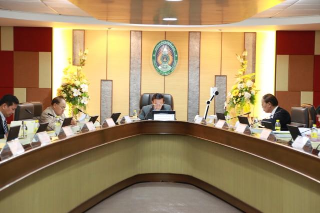 การประชุมสภามหาวิทยาลัย มหาวิทยาลัยราชภัฏเชียงใหม่ ครั้งที่ 8/2559
