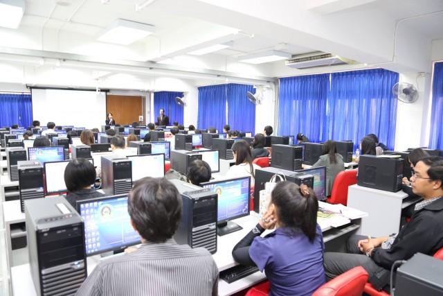 มร.ชม. อบรมใช้งานระบบฐานข้อมูลด้านการประกันคุณภาพการศึกษา CHE QA Online