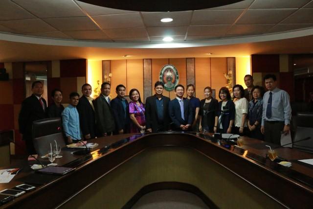 มร.ชม. ต้อนรับคณะผู้บริหารและอาจารย์ CODICT ประเทศฟิลิปปินส์