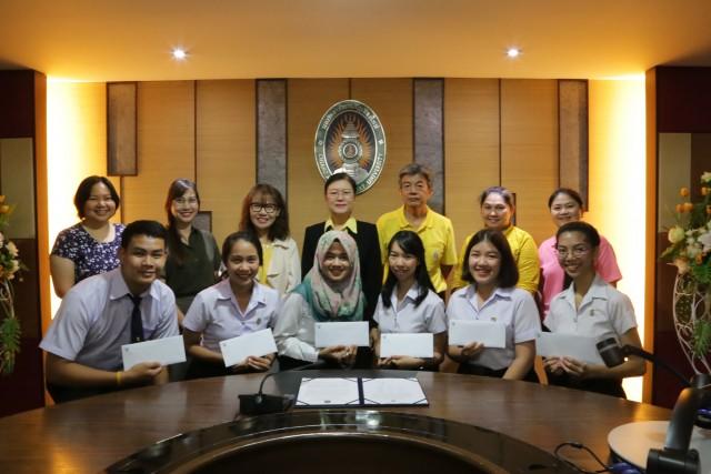 ตัวแทนนักศึกษารั้วดำเหลือง ร่วมปฐมนิเทศ โครงการ SEA - Teacher Project ( รุ่นที่ 6 )  เตรียมเดินทางทดลองสอน ณ มหาวิทยาลัยในประเทศอินโดนีเซีย