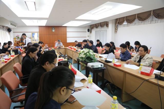 คณะกรรมการจัดเตรียมงานบัณฑิตานุสรณ์ ม.ราชภัฏเชียงใหม่ จัดประชุมหารือการจัดงานบัณฑิตานุสรณ์ ประจำปี 2560
