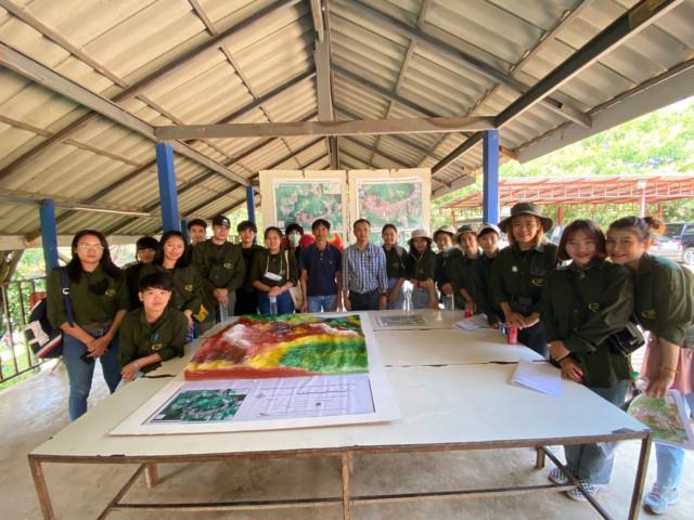 ศูนย์ความเป็นเลิศด้านแผนที่และเทคโนโลยีภูมิสารสนเทศชุมชน มร.ชม. จัดทำแผนที่ 3 มิติ สร้างแหล่งเรียนรู้ในชุมชนหมู่บ้านกองแหะ ต.โป่งแยง อ.แม่ริม จ.เชียงใหม่