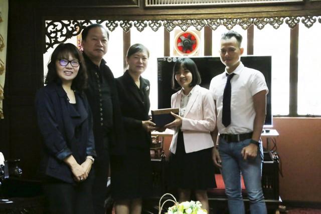 มร.ชม. เดินหน้าขยายความร่วมมือ ม.ดุยตัน ประเทศเวียดนาม  เสวนาโครงการแลกเปลี่ยนนักศึกษาฝึกประสบการณ์วิชาชีพด้านการโรงแรม