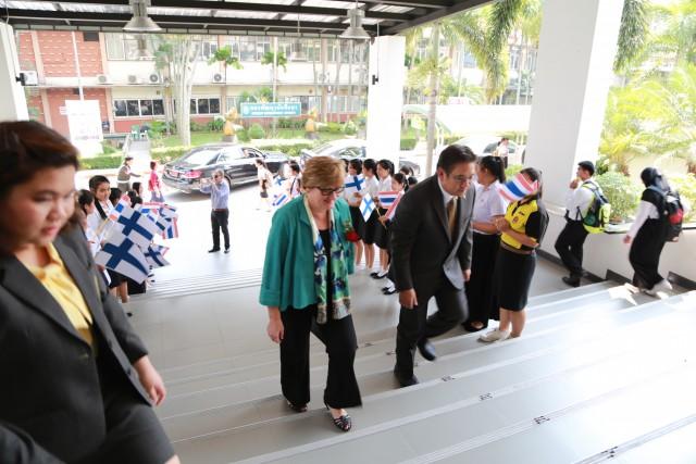 """เอกอัครราชทูตฟินแลนด์ประจำประเทศไทย ให้เกียรติเดินทางมาเป็นวิทยากรในการบรรยายเรื่อง """"การศึกษาในประเทศฟินแลนด์"""""""